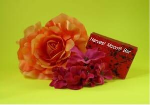 Natural rose petal soap bar