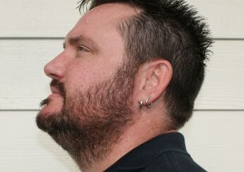 After Harvest Moon chemical free beard dye
