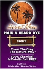 Harvest Moon brown henna hair dye