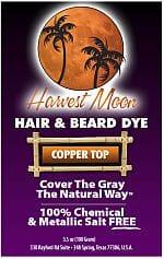 Harvest Moon copper brown henna hair dye