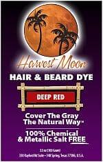 Harvest Moon deep red henna hair dye
