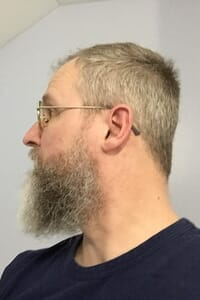 Before using Harvest Moon natural beard dye