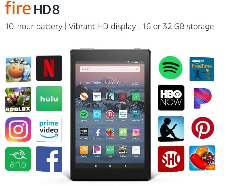 Amazon Fire Tablet HD